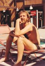 Ken Pier at pool